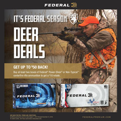 Federal Deer Deals Rebate Info