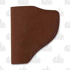 BIANCHI Model 6 Right Hand Carry Brown Leather Holster Size 01
