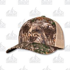 Kings Camo Kings Logo Snapback Cap Realtree Edge