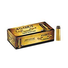 Aguila Cowboy Action 45 Long Colt 200 Grain Round Nose Flat 50 Rounds