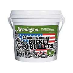 Remington Golden Bullet 22 Long Rifle 36 Grain Plated Lead Hollow Point 1400 Rounds