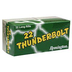 Remington Thunderbolt 22 LR 40 Grain Lead Round Nose 500 Rounds