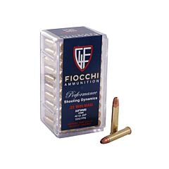 Fiocchi Shooting Dynamics 22 Winchester Magnum Rimfire 40 Grain Jacketed Hollow Point 50 Rounds