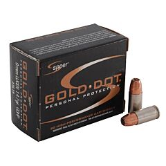 CCI Gold Dot 9mm Luger 147 Grain Jacketed Hollow Point 20 Rounds