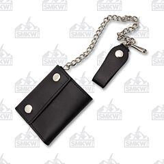 """Szco 4.5"""" Bi-Fold Biker Wallet"""