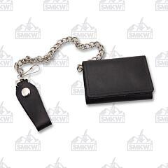 "Szco 4.25"" Tri-Fold Biker Wallet"