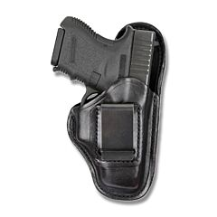 BIANCHI Model 100 Professional Right Hand Carry Black Leather Holster Size 12