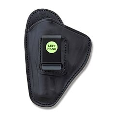 BIANCHI Model 100 Professional Right Hand Carry Black Leather Holster Size 4