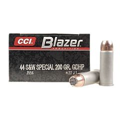 CCI Blazer 44 Special 200 Grain Jacketed Hollow Point 50 Rounds