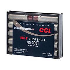 CCI Big 4 45 Colt 140 Grain #4 shotshell 10 Round
