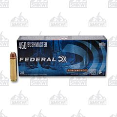 Federal Power-Shok 450 Bushmaster 300 Grain Jacketed Soft Point 20 Rounds