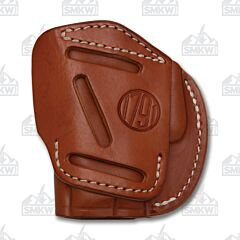 1791 Gunleather 4 Way 4WH-2 Classic Brown Right Carry Concealment & Belt Leather IWB & OWB Holster