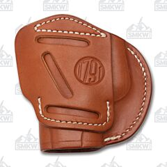 1791 Gunleather 4 Way 4WH-3 Classic Brown Right Carry Concealment & Belt Leather IWB & OWB Holster