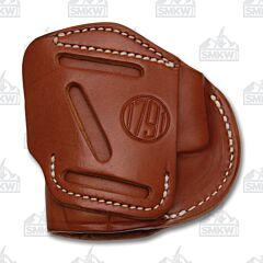 1791 Gunleather 4 Way 4WH-4 Classic Brown Right Carry Concealment & Belt Leather IWB & OWB Holster