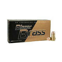 CCI Blazer Brass 40 S&W 165 Grain Full Metal Jacket 1000 Rounds