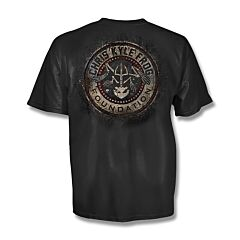 Chris Kyle Frog Foundation Gritty Distressed T-Shirt - Large