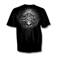 Chris Kyle Frog Foundation Stone and SteelT-Shirt - Large