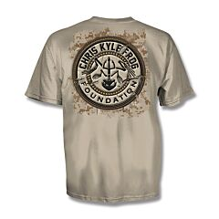 Chris Kyle Frog Foundation Sand T-Shirt - XL