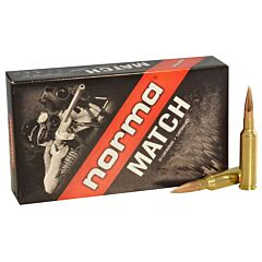 Norma USA American PH 6.5 Creedmoor 130 Grain Golden Target Hybrid Hollow Point 20 Rounds