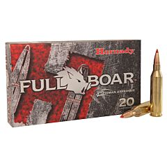 Hornady Full Boar 243 Winchester 80 Grain GMX Polymer Tip Boat Tail 20 Rounds