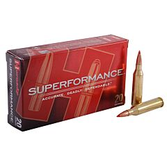 Hornady Superformance 243 Winchester 95 Grain SST Polymer Tip Boat Tail 20 Rounds