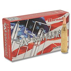 Hornady American Whitetail 243 Winchester 100 Grain Interlock Soft Point Boat Tail 20 Rounds