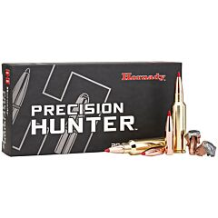 Hornady Precision Hunter 300 Winchester Short Magnum 200 Grain Polymer Tip Boat Tail 20 Rounds