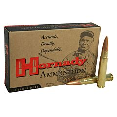 Hornady Vintage Match 8x57mm JS Mauser 196 Grain Hollow Point Boat Tail 20 Rounds