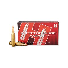 Hornady Superformance Varmint 243 Winchester 75 Grain V-Max 20 Rounds