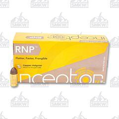 Inceptor Sport Utility 380 ACP 60 Grain RNP 50 Rounds