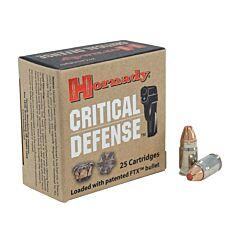 Hornady Critical Defense 32 NAA 80 Grain Flex Tip Expanding 25 Rounds