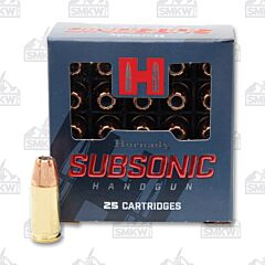 Hornady Subsonic 9mm Luger 147 Grain XTP Jacketed Hollow Point 25 Rounds