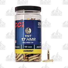 CCI  VNT 17 HMR 17 Grain VNT Polymer Tip 250 Rounds