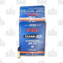 CCI Suppressor Ammo 22LR 45 Grain Lead Round Nose 200 Rounds
