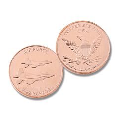 Air Force One Ounce Copper Round