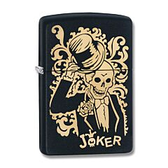 Zippo Joker Black Matte Lighter