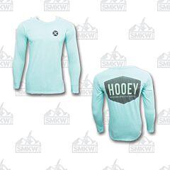 Hooey Western Athletic Shield Celadon Long Sleeve Shirt