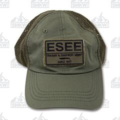 ESEE Knives Adventure OD Green Cap with Patch
