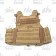 5ive Star Gear Coyote Small/Large Bodyguard Plate Carrier Model 2809-003