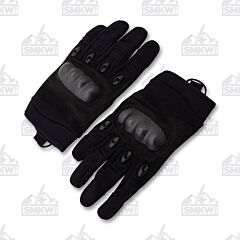 5ive Star Gear Black Tacitcal Hard Knuckle Gloves Small