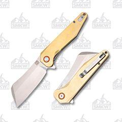Artisan Cutlery Osprey Brass Handle