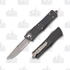 Microtech Troodon S/E Apocalyptic Partially Serrated