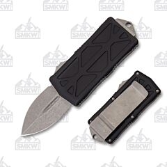 Microtech Exocet Black Apocalyptic Standard