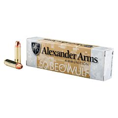 Alexander Arms 50 Beowulf 335 Grain Hollow Point 20 Rounds