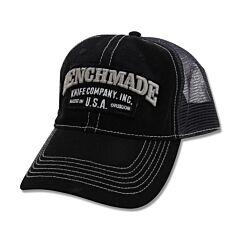 """Benchmade Trucker """"Solid Steel"""" Hat"""