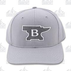 Buck Anvil Patch Hat Gray