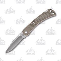 Buck Tan Slim Select 110 Folding Hunter