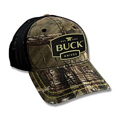 Buck Adult Hat  Logo Patch Realtree Xtra Mesh Back