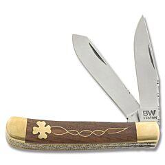 BW Custom Celtic Clover Filework Trapper