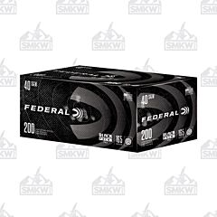 Federal Black Pack 40 S&W 165 Grain Full Metal Jacket 200 Rounds